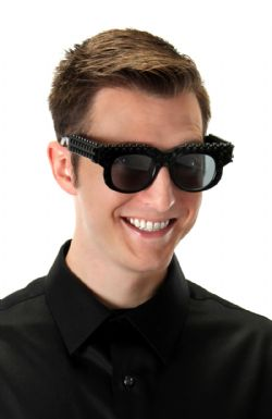 BRICKY BLOCKS GLASSES - BLACK