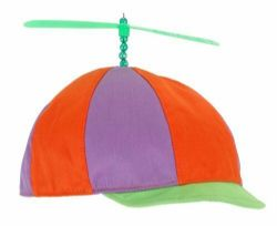 ALICE IN WONDERLAND -  TWEEDLEDEE PLUSH HAT