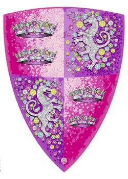 MEDIEVAL -  CRYSTAL PRINCESS SHIELD (16