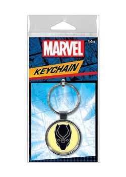 BLACK PANTHER -  FACE KEYCHAIN