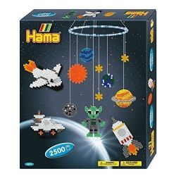 HAMA BEADS -  SPACE MOBILE (2500 PIECES)