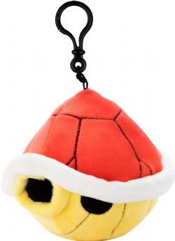 NINTENDO -  RED SHELL KEYCHAIN (3