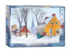 EUROGRAPHICS -  WINTER MORNING IN BAIE-ST-PAUL (1000 PIECES)