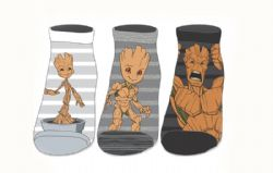 GUARDIANS OF THE GALAXY -  3 PAIRES DE BAS GROOT