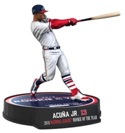 ATLANTA BRAVES -  RONALD ACUNA #13 (ROOKIE OF THE YEAR 2018) (6