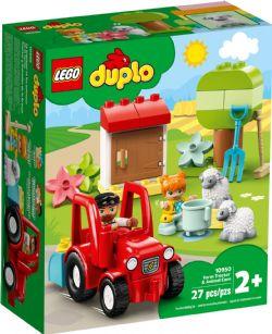 DUPLO -  FARM TRACTOR & ANIMAL CARE (27 PIECES) 10950