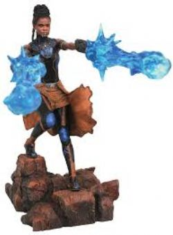 BLACK PANTHER -  SHURI PVC STATUE (9INCHES) -  BLACK PANTHER MOVIE MARVEL GALLERY