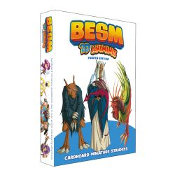 BESM : ROLEPLAYING GAME 4E -  2D ANIMINIS (ANGLAIS)