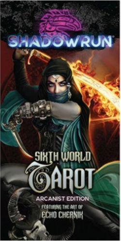 SHADOWRUN -  SIXTH WORLD TAROT DECK - ARCANIST EDITION (ENGLISH)