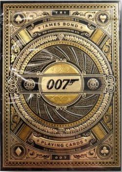 CARTES FORMAT POKER -  BICYCLE - THEORY-11 JAMES BOND 007!