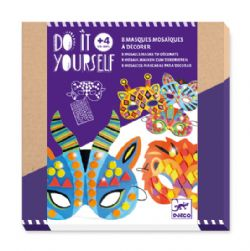 DO IT YOURSELF -  MOSAICS MASKS TO DECORATE (MULTILINGUAL)