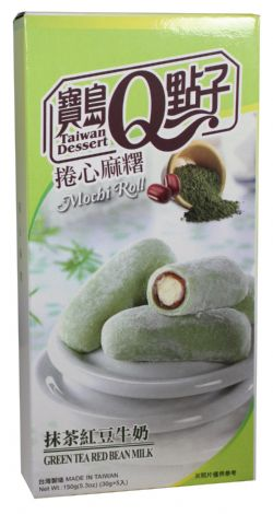 MOCHI -  GREEN TEA RED BEAN MILK (150 G)