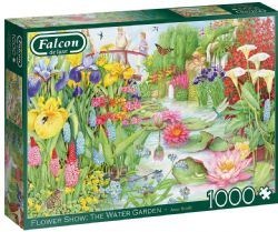 FALCON DE LUXE -  FLOWER SHOW: THE WATER GARDEN (1000 PIECES)