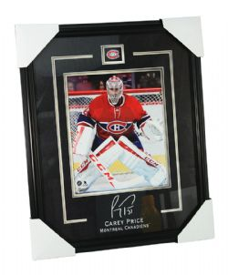CANADIENS DE MONTRÉAL -  CAREY PRICE #31 FRAMED PHOTO (8 X 10)
