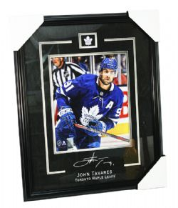 MAPLE LEAFS DE TORONTO -  JOHN TAVARES #91 FRAMED PHOTO (8 X 10)