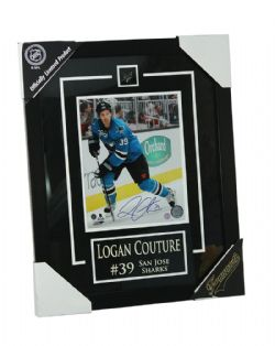 SHARKS DE SAN JOSE -  PHOTO ENCADRÉE LOGAN COUTURE #39 (8 X 10)