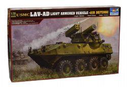 TANK -  USMC LAV-AD LIGHT ARMORED VEHICLE-AIR DEFENSE 1/35 (CHALLENGING)