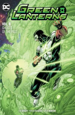 GREEN LANTERNS -  GHOSTS OF THE PAST TP 08