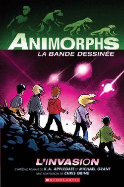 ANIMORPHS: LA BANDE DESSINÉE -  L'INVASION 01