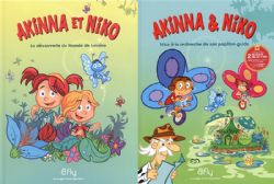 BFLY -  PACK TOME 1 ET 2 -  AKINNA AND NIKO