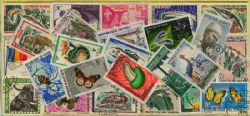 FRENCH COLONIES -  35 ASSORTED STAMPS - FRENCH COLONIES