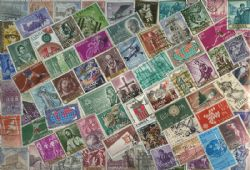 SPAIN -  500 ASSORTED STAMPS - SPAIN