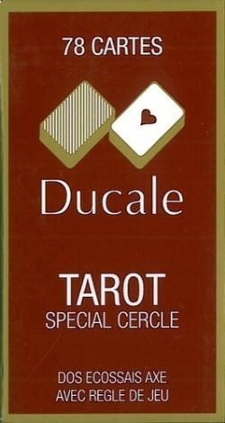 TAROT GAME -  DUCALE WITH CARDBOARD CASE