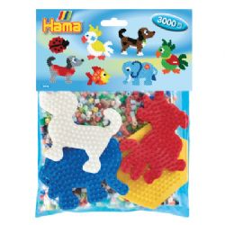 HAMA BEADS -  PACK B (3000 PIECES)
