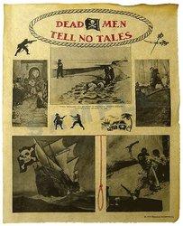 DOCUMENTS HISTORIQUES -  DEAD MAN TELL NO TALES (REPRODUCTION)