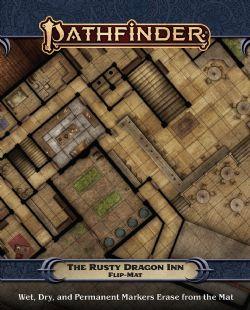 FLIP-MAT -  THE RUSTY DRAGON INN -  PATHFINDER