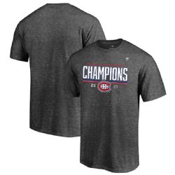 MONTREAL CANADIENS -  T-SHIRT - CHARCOAL GREY -  2021 STANLEY CUP FINAL