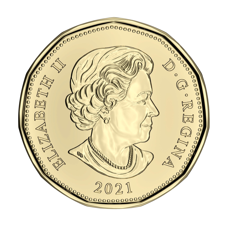 1-DOLLAR -  2021 CLASSIC 1-DOLLAR - BRILLIANT UNCIRCULATED (BU) -  2021 CANADIAN COINS