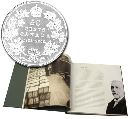 100 YEARS OF HISTORY - ROYAL CANADIAN MINT - 2008 CANADIAN COIN