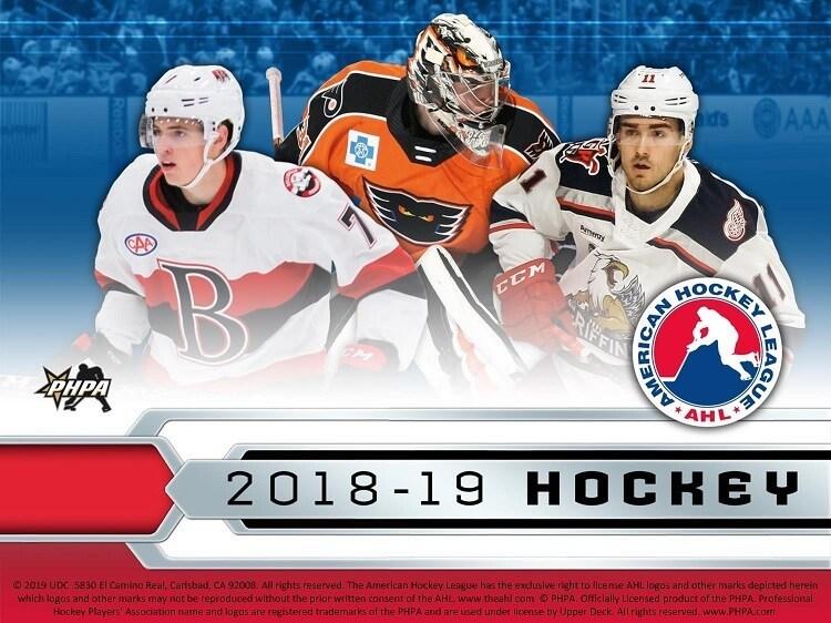 2018 19 Hockey Upper Deck American Hockey League Ahl P8 B16