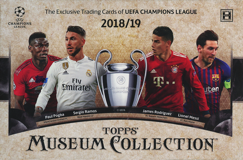 2018-19 SOCCER -  TOPPS MUSEUM COLLECTION UEFA (P8)