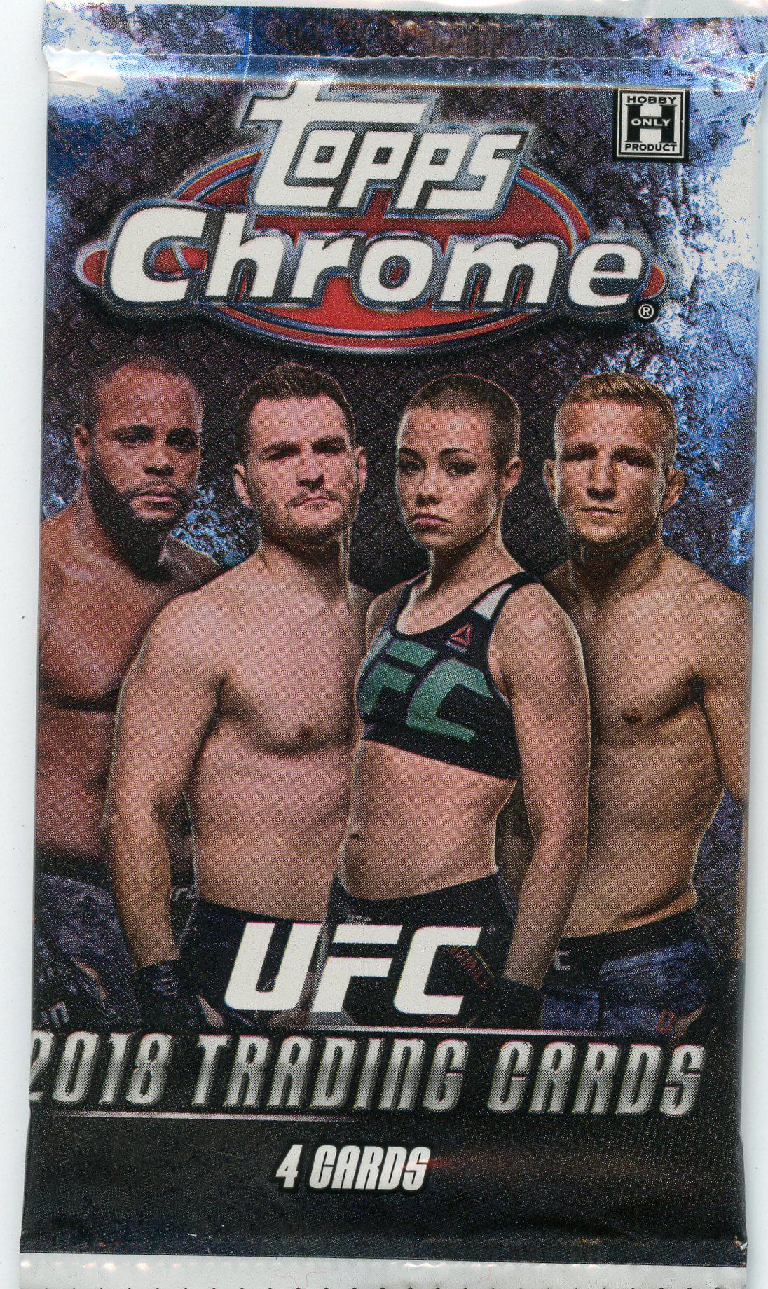 2018 UFC -  TOPPS CHROME (P4/B24)