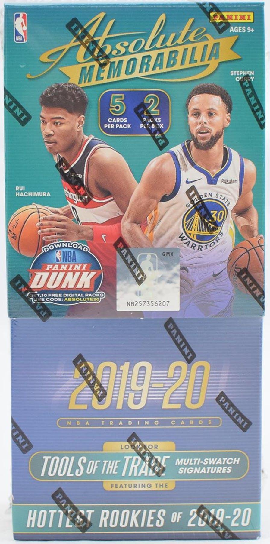 201920 basketball  panini absolute memorabilia p5b2