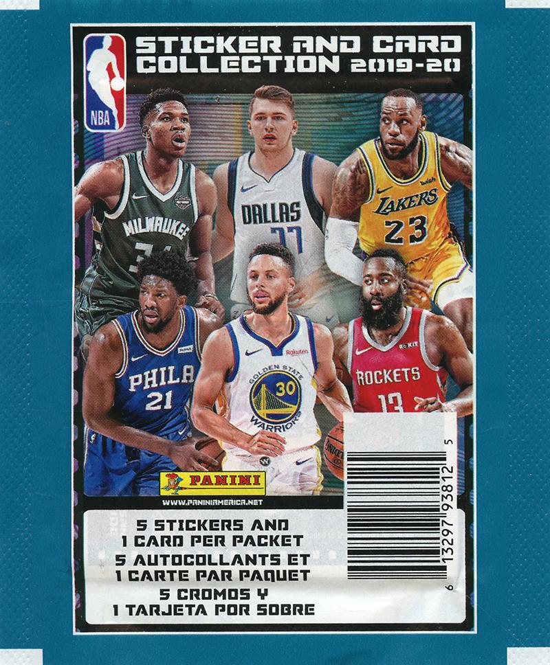 2019-20 BASKETBALL -  PANINI STICKERS NBA (P5/B50)