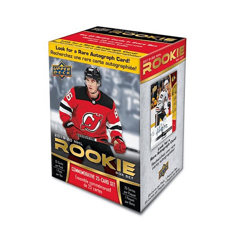 2019-20 HOCKEY -  2019-20 UPPER DECK NHL ROOKIE BOX SET