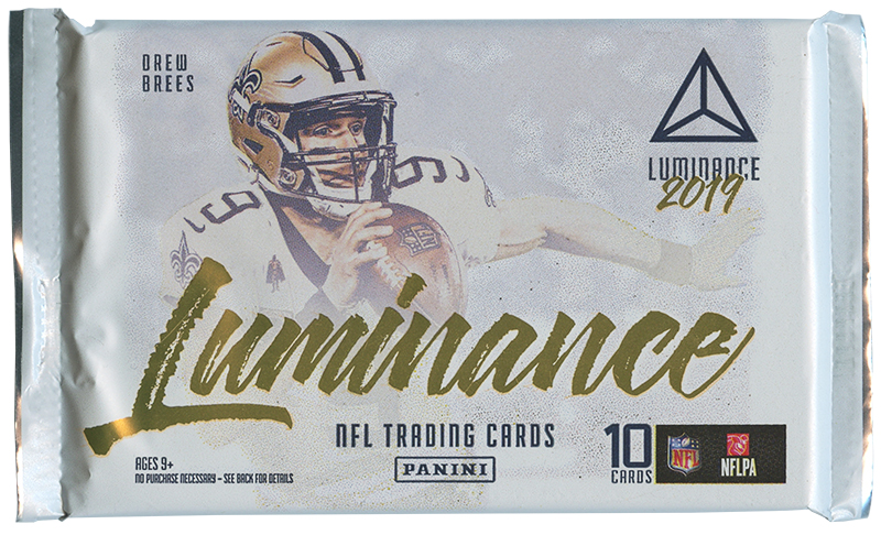 2019 FOOTBALL -  PANINI LUMINANCE (P10/B4)