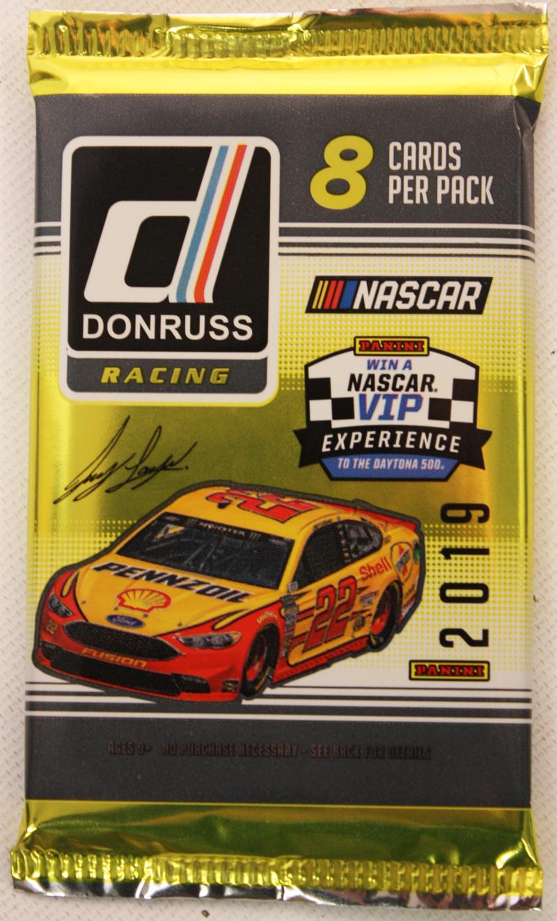 2019 NASCAR -  PANINI DONRUSS RACING (P8/B24)