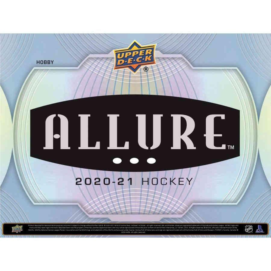 2020-21 HOCKEY -  UPPER DECK ALLURE HOBBY (P8/B8/C20)