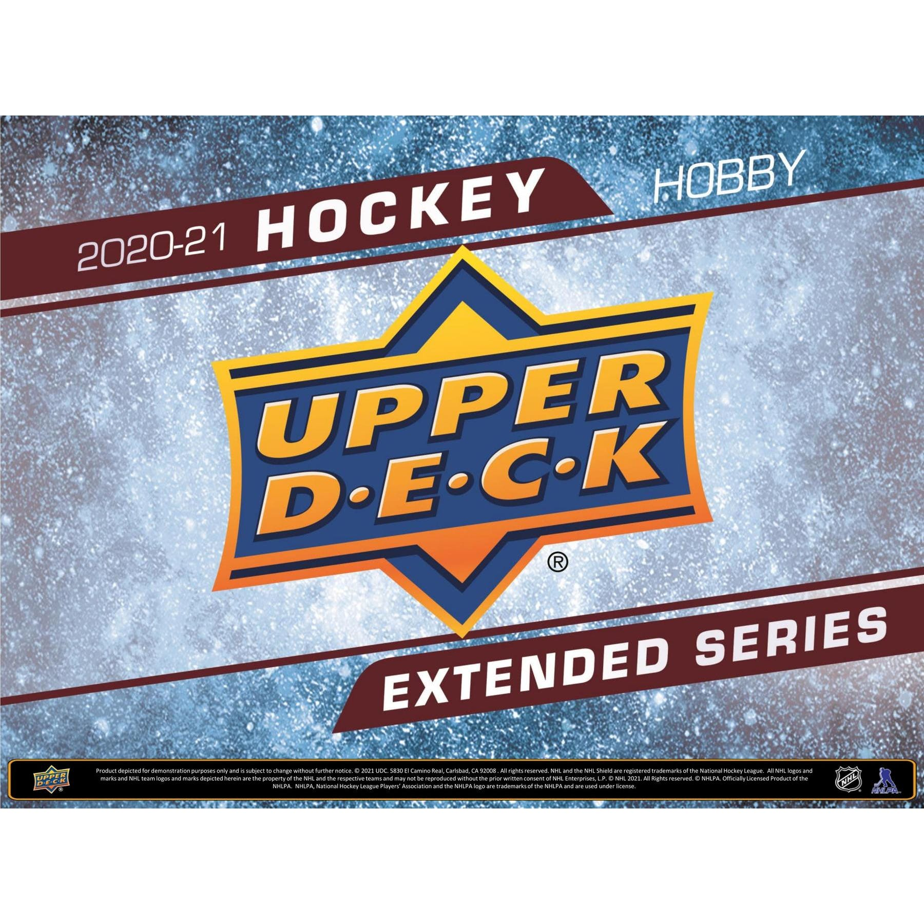 2020-21 HOCKEY -  UPPER DECK EXTENDED SERIES - HOBBY