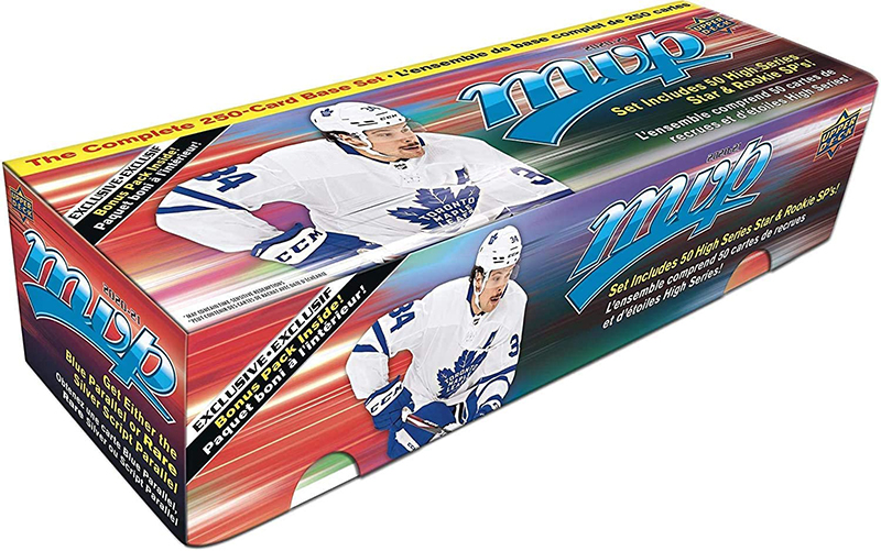 2020-21 HOCKEY -  UPPER DECK MVP BOX SET (250+)