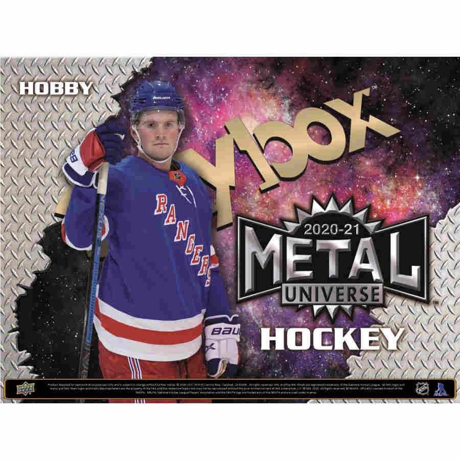 2020-21 HOCKEY -  UPPER DECK SKYBOX METAL UNIVERSE - HOBBY (7/15/16)