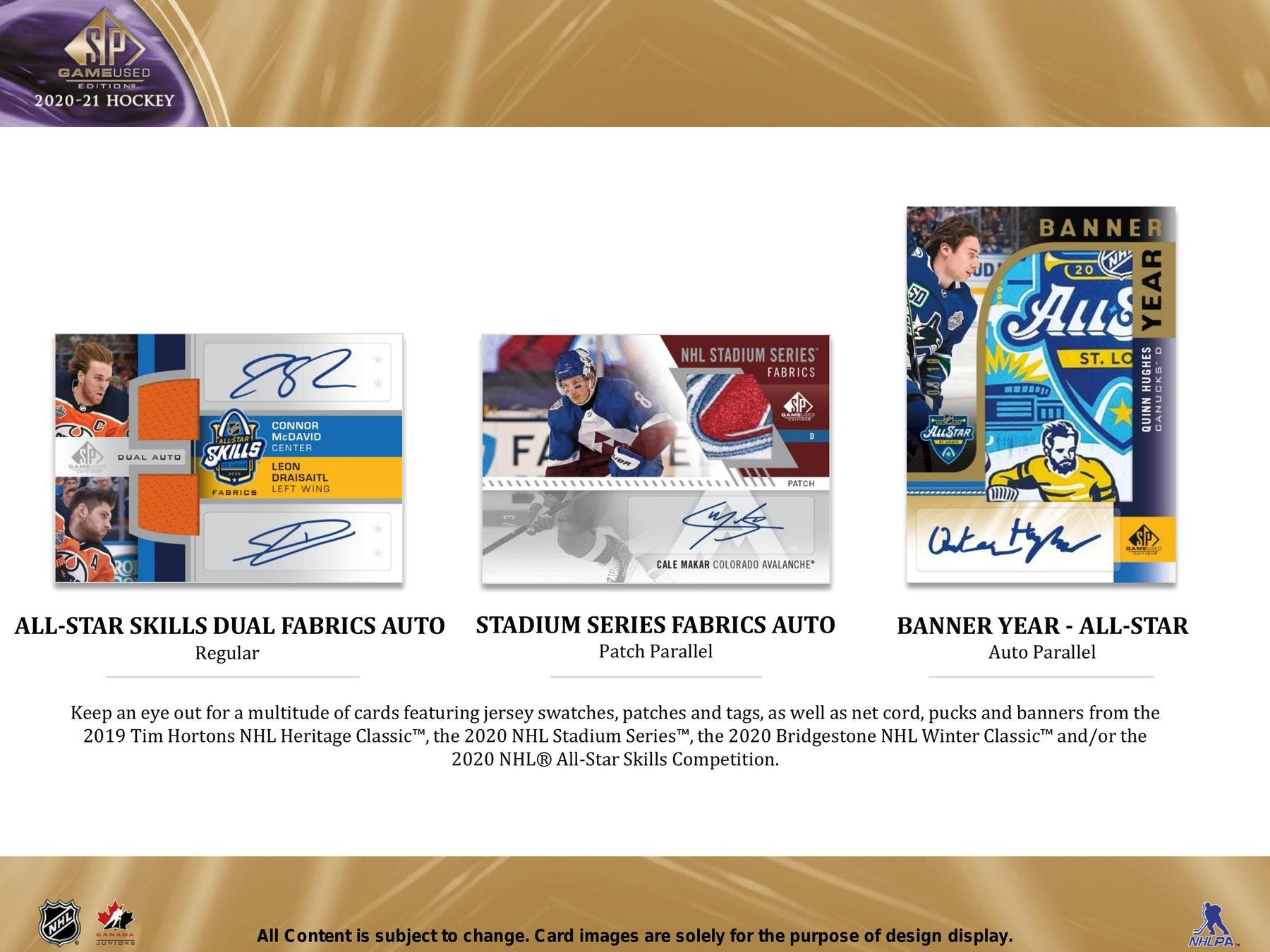 2020-21 HOCKEY -  UPPER DECK SP GAME USED - HOBBY BOX ****LIMIT OF TEN (10) PER CUSTOMERS/ADRESS****