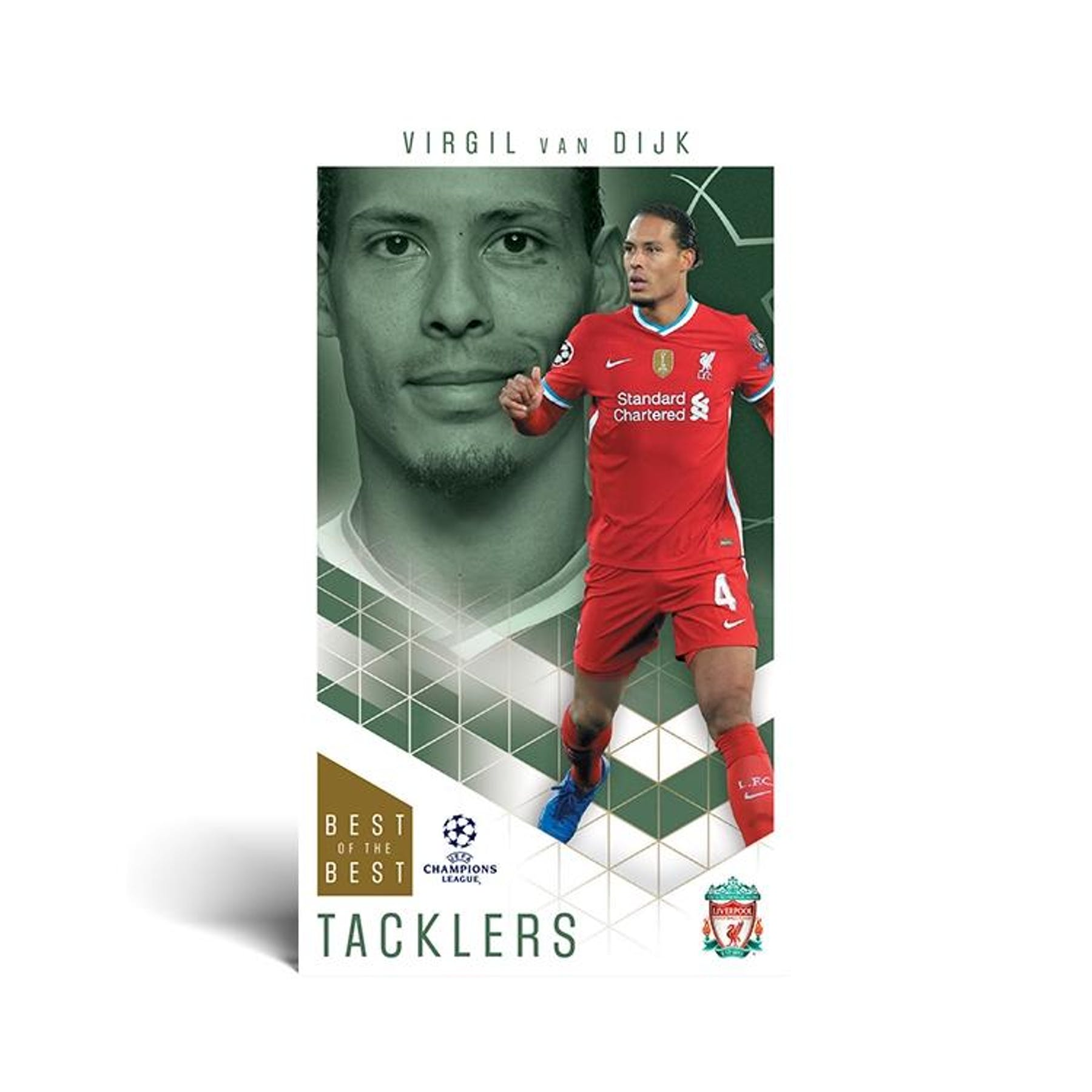 2020-21 SOCCER -  TOPPS BEST OF THE BEST SUPERSIZE UEFA CHAMPIONS LEAGUE PACK