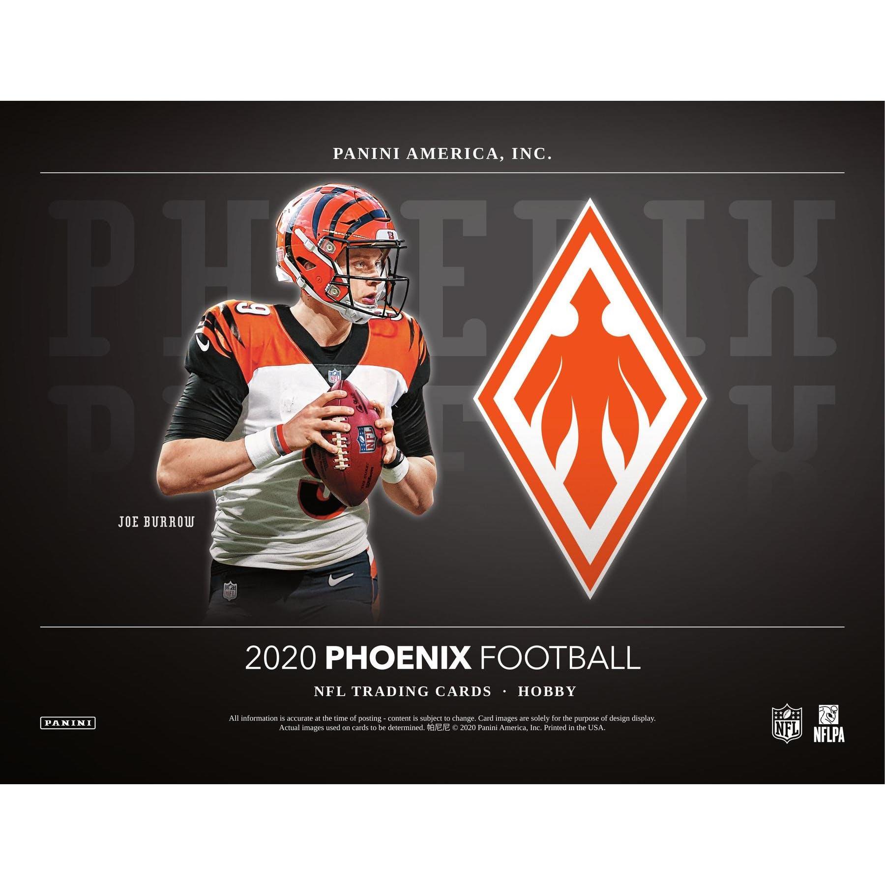 2020 football  panini phoenix p5b12  football  packs