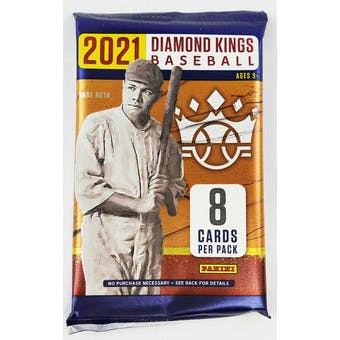 2021 BASEBALL -  PANINI DIAMOND KINGS (P8/B12/C24)