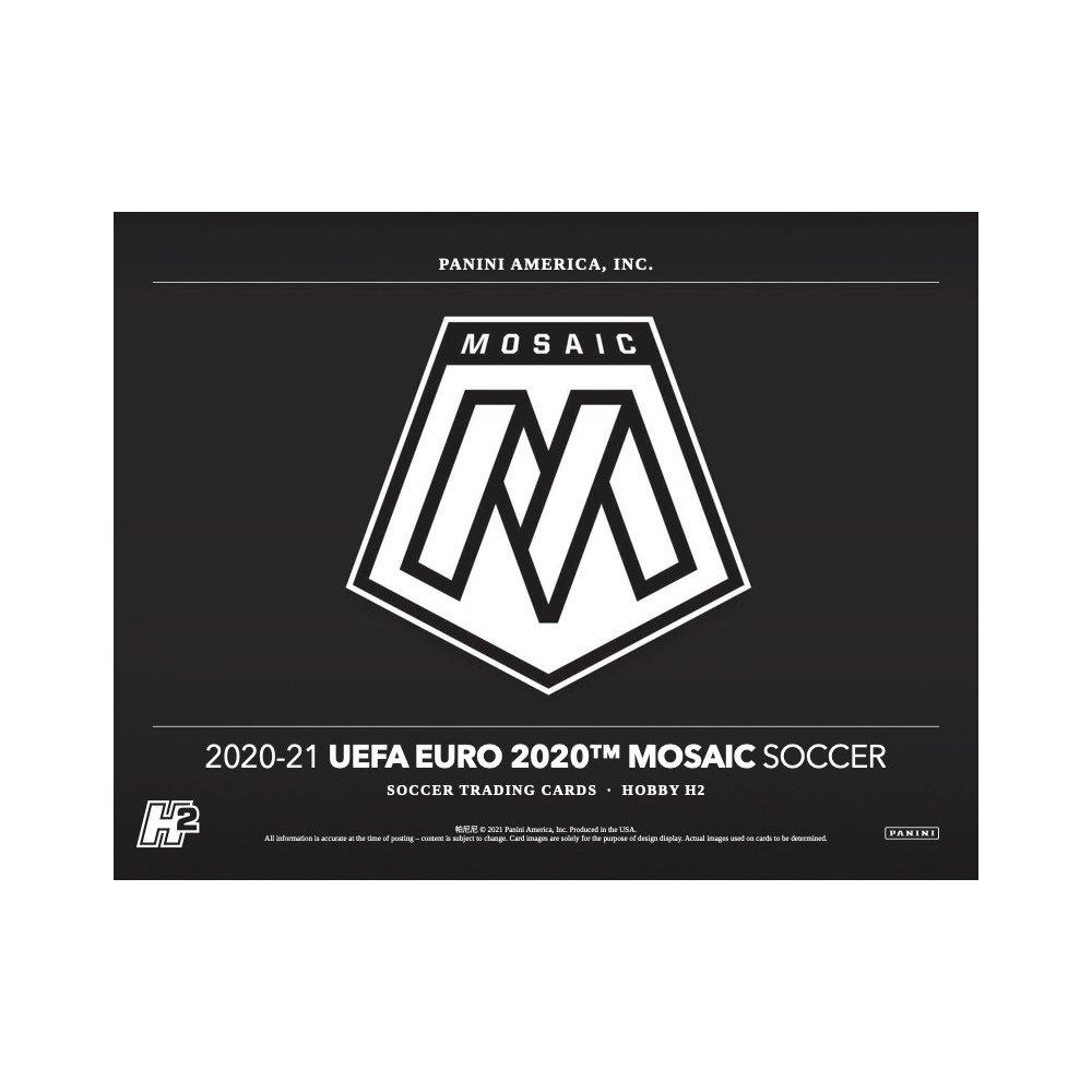 2021 SOCCER -  PANINI MOSAIC EURO SOCCER UEFA HOBBY BOX HYBRID H2